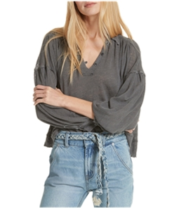 Free People Womens Rush Hour Peasant Blouse