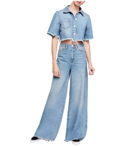 Free People Womens Dust In the Wind Pant Suit