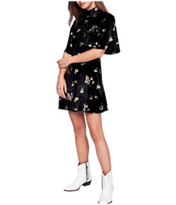 Free People Womens Be My Baby Mini Dress