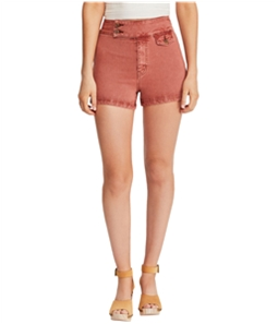 Free People Womens Sammi Retro Casual Denim Shorts