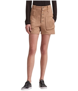 DKNY Womens Faux Suede Casual Walking Shorts
