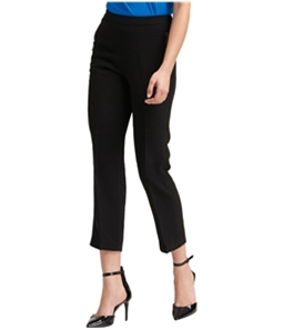 DKNY Womens Pull-On Zip-Pocket Casual Trouser Pants