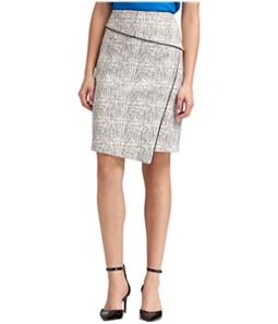 DKNY Womens Asymmetrical Pencil Skirt