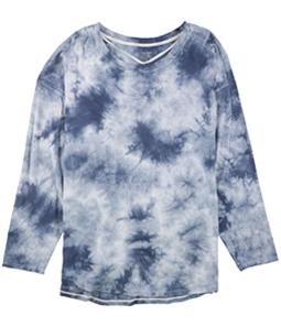 Calvin Klein Womens Tie Dyed Basic T-Shirt