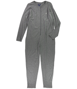 Ralph Lauren Mens Heathered Bodysuit Jumpsuit Pajama