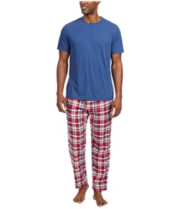 Nautica Mens Woven Pajama Set