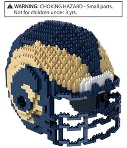 Forever Collectibles Unisex Team Helmet Construction Toy Souvenir