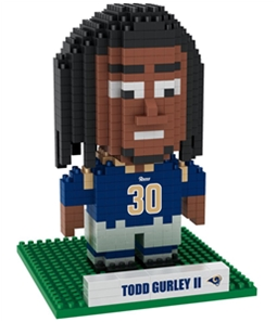 Forever Collectibles Unisex Todd Gurley II Construction Toy Souvenir