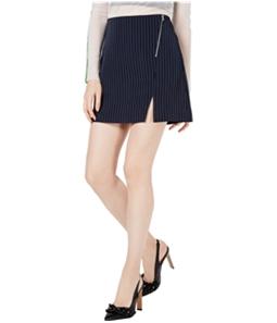 Project 28 Womens Pinstriped Mini Skirt