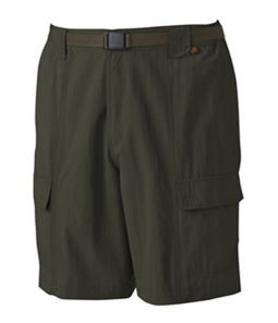 Pacific Trail Mens Belted Performance Casual Walking Shorts