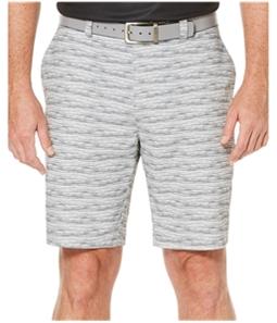 PGA Tour Mens Printed Athletic Workout Shorts