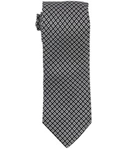 Sean John Mens Stacked Square Self-tied Necktie