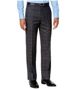 Ryan Seacrest Mens Plaid Casual Trouser Pants