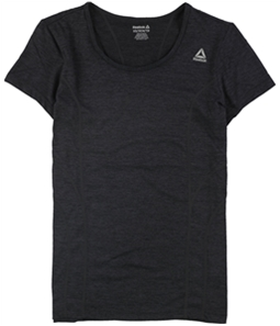 Reebok Womens Poly Marled Basic T-Shirt
