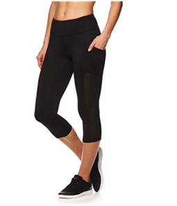 Reebok Womens Focus Capri Compression Athletic Pants