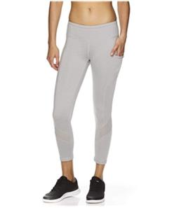 Reebok Womens Aspire Skinny Capri Compression Athletic Pants