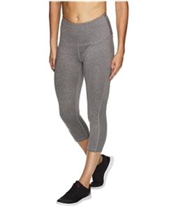 Reebok Womens Align High Rise Capri Compression Athletic Pants