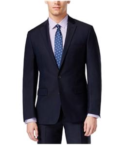 Ryan Seacrest Mens Solid Modern Fit Two Button Blazer Jacket
