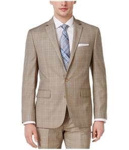 Ryan Seacrest Mens Plaid Two Button Blazer Jacket
