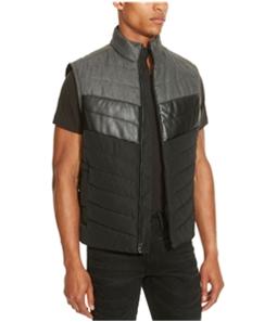 Kenneth Cole Mens Colorblock Puffer Vest