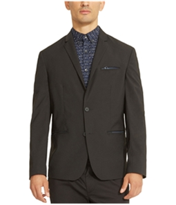 Kenneth Cole Mens Tech Two Button Blazer Jacket