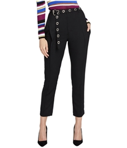 Rachel Roy Womens Belted Casual Trouser Pants