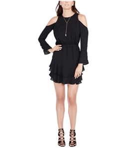 Rachel Roy Womens Coco Cold Shoulder Dress