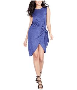Rachel Roy Womens Draped Wrap Dress