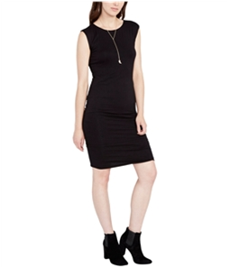 Rachel Roy Womens Draped Bodycon Dress