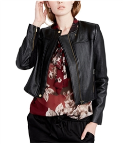 Rachel Roy Womens Quilted Motorcycle Jacket