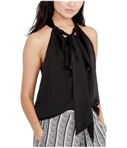 Rachel Roy Womens Madeline Tie-Front Knit Blouse