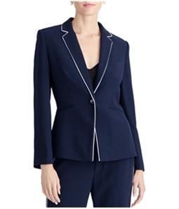 Rachel Roy Womens Halo One Button Blazer Jacket