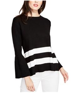 Rachel Roy Womens Tie Back Pullover Sweater