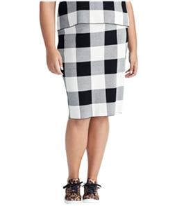 Rachel Roy Womens Sweater Midi Skirt