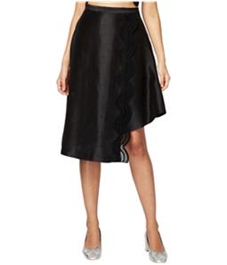 Rachel Roy Womens Lace-insert A-line Asymmetrical Dress