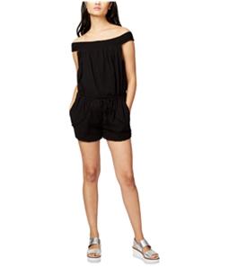 Rachel Roy Womens Cotton Romper Jumpsuit