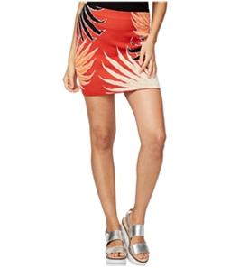 Rachel Roy Womens Jacquard Midi Skirt