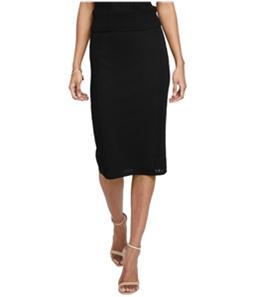 Rachel Roy Womens Mixed Stitch A-line Skirt