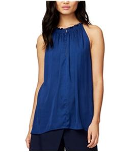 Rachel Roy Womens Melinda Asymmetrical Knit Blouse