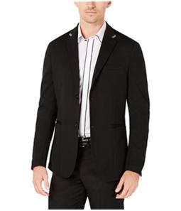 Ryan Seacrest Mens Knit Two Button Blazer Jacket
