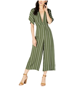Sage The Label Womens Striped Jumpsuit