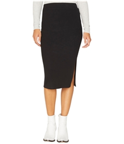 Sanctuary Clothing Womens Ribbed Pencil Skirt