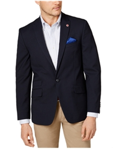 Ben Sherman Mens Peak Lapel One Button Blazer Jacket
