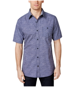 Weatherproof Mens Diamonds In The Rough Button Up Shirt