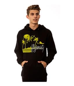 Fly Society Mens The Palm Beach Hoodie Sweatshirt