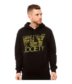 Fly Society Mens The Snakeskin Fly Hoodie Sweatshirt