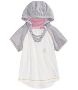 Sean John Girls SS Raglan Hoodie Sweatshirt
