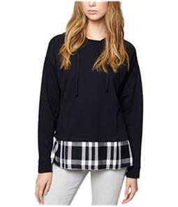 Sanctuary Clothing Womens Layered Hoodie Sweatshirt