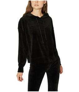 Sanctuary Clothing Womens Velour Hoodie Sweatshirt