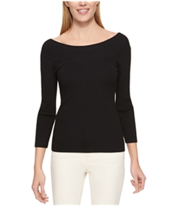 Tommy Hilfiger Womens Reverse Shawl Pullover Sweater